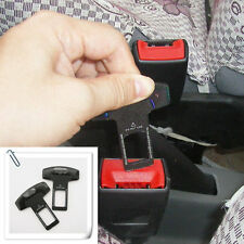 2x Car Seat Belt Buckle Clasp Insert Plug Eliminate Stop Alarm for Jeep Offroad
