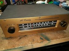 Vintage Dewald Imperial L-803 AM FM Mono Tube Tuner EARLY MULLARD TUBES INSIDE
