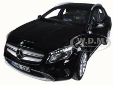2014 MERCEDES GLA CLASS BLACK 1/18 DIECAST MODEL CAR BY NOREV 183450