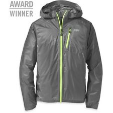 OUTDOOR RESEARCH MENS HELIUM II JACKET PEWTER (LARGE)