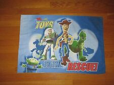 Disney Toy Story Woody Buzz Lightyear To the Rescue  2-Sided Pillowcase Fabric