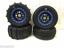 DWT GMZ Beadlock Sand Stripper Dune Paddle Tires Front Rear Polaris RZR Turbo