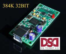 NEWEST XMOS U8 USB 384K 32B I2S SPDIF output,support DSD for es9018 DAC
