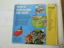 LEGO BROCHURE FLYER CATALOG TOYS 20?? DUTCH 70 PAGES 160 COVER MISSING WITH EXTR