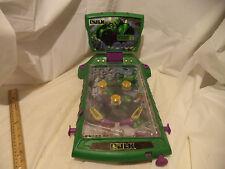 2003 Marvel INCREDIBLE HULK TABLETOP PINBALL MACHINE Radio Shack Electronic Game