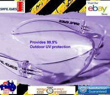24 x pairs Safety Glasses Clear lens bulk buy Safe Eyes Eye protection