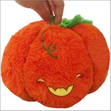 """SQUISHABLE Pumpkin 7"""" stuffed animal LIMITED EDITION Hand numbered NEW"""