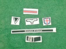 1/6 tedesco seconda guerra mondiale britannico libero KORPS INSIGNIA, BADGE e patch