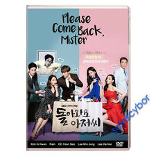"""BUY 5 GET 1 FREE""  Please Come Back, Mister Korean Drama (4DVDs) GOOD_ENG SUBS"