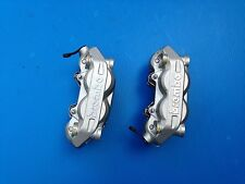 COPPIA PINZE FRENO BRAKE CALIPERS BREMBO PER DUCATI GUZZI APRILIA INT. 100