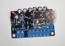 Speaker protection board assembled Omron relay low loss and reliable !