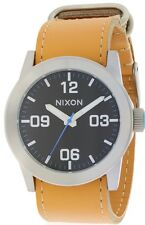Nixon Private Leather Mens Watch A0491602