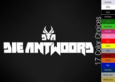 Die Antwoord logo decal sticker | 17 Color Choices!