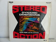HENRI RENE Stereo action N°3 Dynamic dimensions 740544