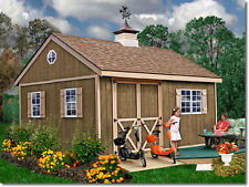 Best Barns 12' x 16' New Castle Wood Shed Kit - 2 WEEK SALE JUST EXTENDED TO 9/5