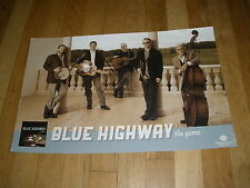 BLUE HIGHWAY the game CD record RELEASE POSTER