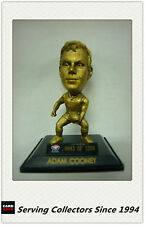 *2008 Select AFL LIMITED EDITION GOLD FIGURINE NO.46 Adam Cooney( Bulldogs)