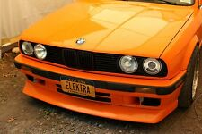BMW E30 M3 front lip for standard bumper