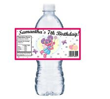(20) ABBY CADABBY PERSONALIZED BIRTHDAY PARTY FAVORS WATER BOTTLE LABELS
