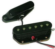 Dragonfire NOISELESS Pickup Set for Fender TELE/Telecaster, Black, NEW!