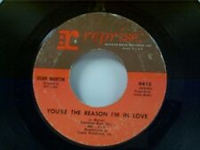 "DEAN MARTIN ""YOU'RE THE REASON I'M IN LOVE / I WILL"" 45"
