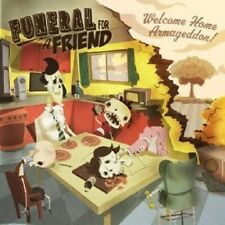 """FUNERAL FOR A FRIEND """"WELCOME HOME..."""" CD+DVD NEU"""