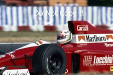Andrea De Cesaris BMS Scuderia Italia Dallara F190 F1 Season 1990 Photograph 1