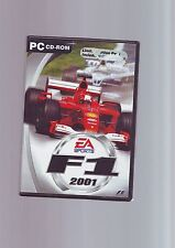 F1 2001 & F1 MANAGER - LIMITED EDITION PC GAME - FAST POST- COMPLETE WITH MANUAL