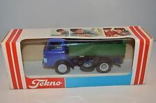 Tekno Denmark 914 Ford - D Tipper Truck Blue and Green mint in box