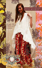 LUELLA TUNIC & CARGO PANTS TG-A6023 Sewing Pattern By Tina Givens- Lagenlook!