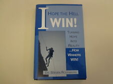I Hope the Hell I Win 1997 Dr. Steven Rosenberg Motivational Self Help