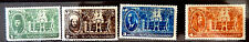 Egypt Stamps May 1946    Set of 4  Used Scott #258,259,260,261