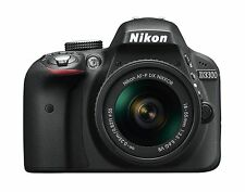 Nikon D3300 24.2 MP CMOS Digital SLR with Auto Focus-S DX NIKKOR 18-55mm f/3.5-5
