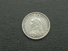 1887 Victoria - Six Pence - Withdrawn type - Silver 0.925 - KM 759 - EF