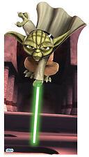 #196 Yoda Star-Wars Höhe 175cm Pappaufsteller Aufsteller Lebensgroß Figur