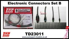 1/12 1/20 1/24 Electronic connector set B and wiring by Top Studio ~ TD23011