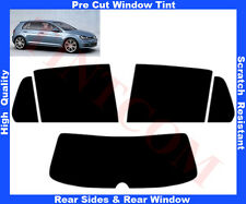 Pre Cut Window Tint VW Golf VII  5D 2013-... Rear Window & Rear Sides Any Shade