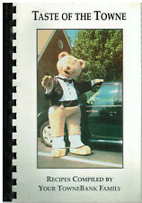 *CHESAPEAKE VA 2000 *TOWNBANK FAMILY & FRIENDS COOK BOOK *TASTE OF THE TOWNE