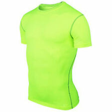 Men Sports Athletic Top Compression Shirt Blouse Base Layer Short Sleeve T-Shirt