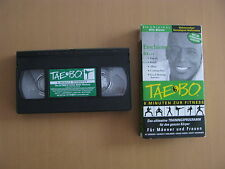 Billy Blanks  Taebo 8 Minuten zur Fitness Das ultimative Trainingsprogramm VHS