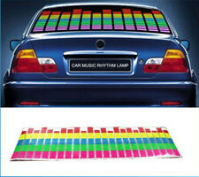 70x16cm Car Sticker Music Rhythm LED Flash Light Lamp Sound Activated Equalizer
