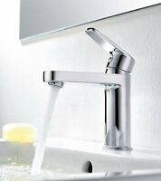 sundely Basin Tap Mixer Faucet Bathroom Mono Lever Sink Chrome brass Wash Tap