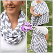 Reversible Maternity Nursing/Breastfeeding Cover Scarf/Poncho