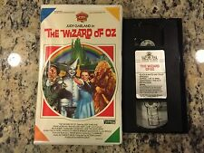 THE WIZARD OF OZ RARE VIDDY-OH! BIG BOX CLAMSHELL VHS 1939 JUDY GARLAND CLASSIC!