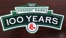 RED SOX 2012 FENWAY PARK 100TH ANNIVERVERSARY PATCH