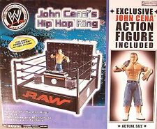 WWE John Cena's Hip Hop Wrestling Ring With Exclusive Figure Turntables Speakers