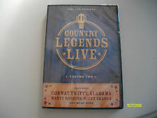 TIME LIFE COUNTRY LEGENDS LIVE VOLUME 2 DVD BRAND NEW IN PACKAGE