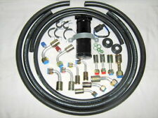 A/C HOSE KIT, GENERAL USE, , W/90  DEGREE R134A O RING FITTINGS/TRINARY SWITCH