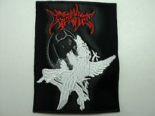IMMOLATION EMBROIDERED PATCH
