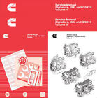Cummins Signature ISX and QSX15 Shop Service Manual Engine Repair Workshop CD